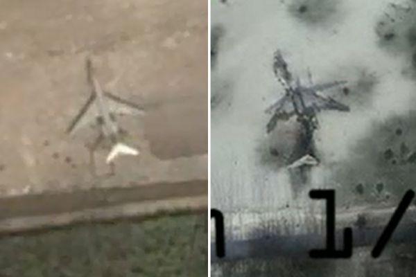 Донецкий аэропорт на снимках 2014 и 2015 года.