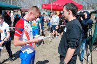 Мастер спорта России Дмитрий Наконечный.