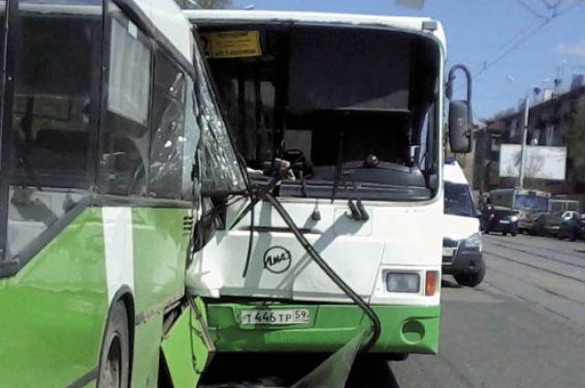 В 2014 г. в Прикамье по вине водителей автобусов произошло 114 ДТП.