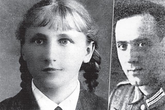 Маша Васильева и Отто Адам.