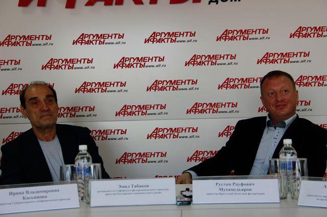 Эмил Табаков и Рустам Мухамедьяров