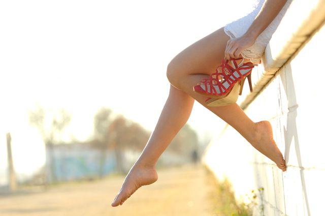 Ножки русских гимнасточек