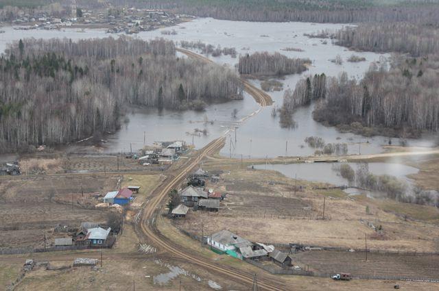 В регионе устраняют последствия паводка.
