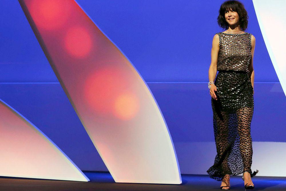 Член жюри актриса Софи Марсо.