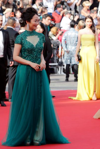 Китайская актриса Чжао Тао.