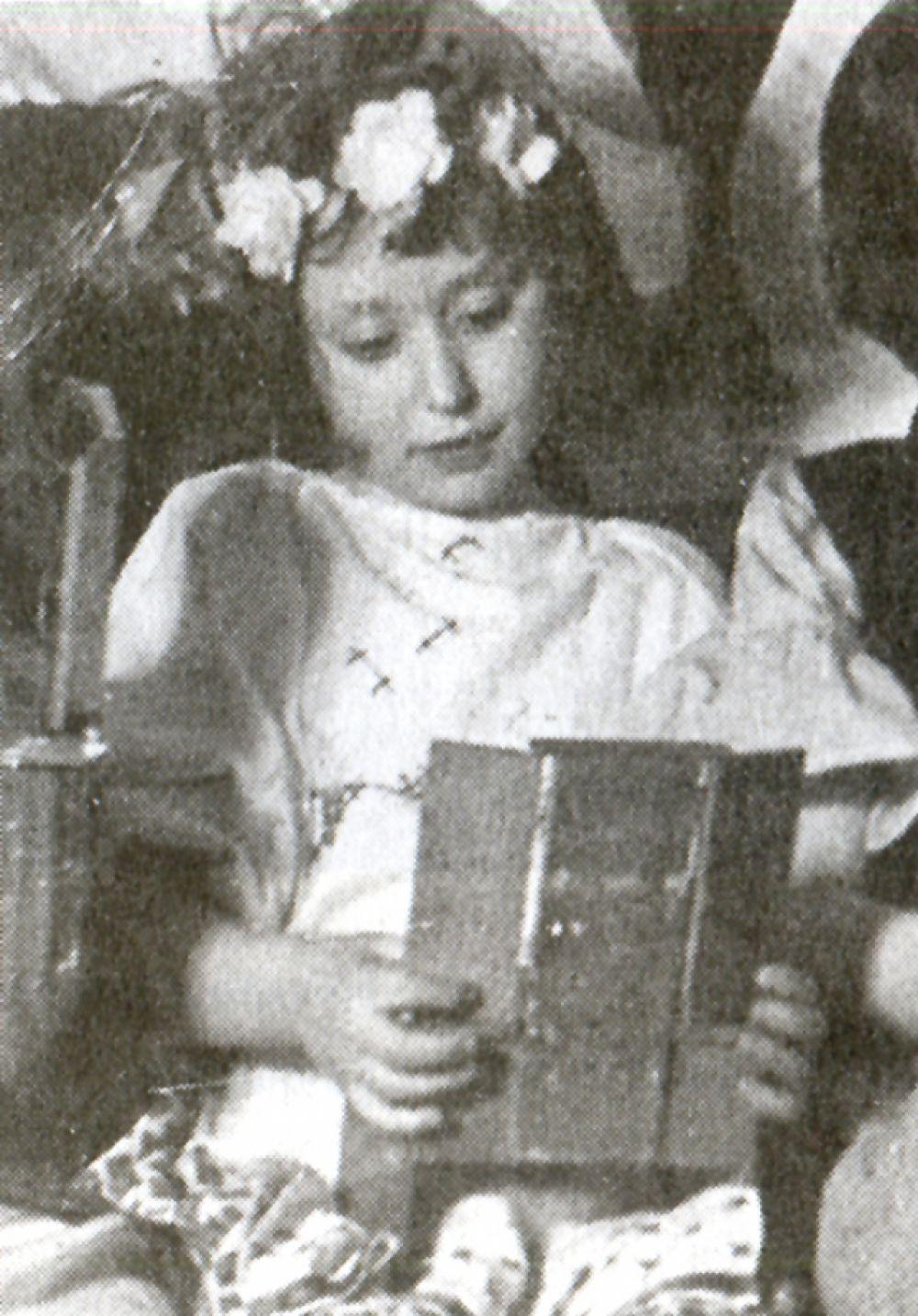 Соня Ивич в детском саду