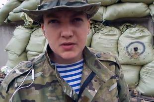 Савченко потребовала судить ее в Москве