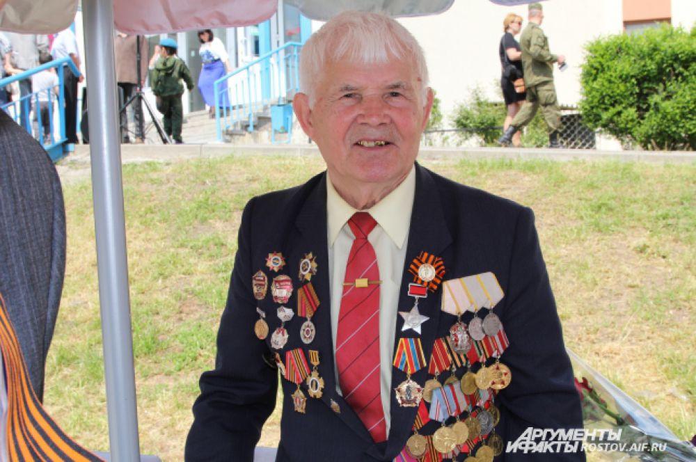 Всего присутствовало 25 ветеранов Великой Отечественной войны.