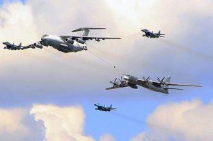 Британские истребители вылетели для сопровождения бомбардировщиков РФ