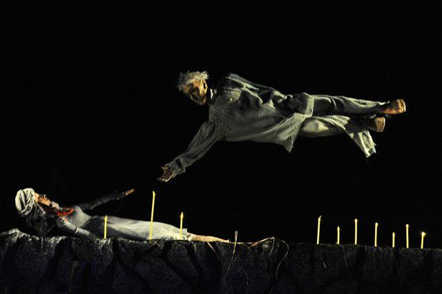 Томский театр «Скоморох» поставил пьесу по мотивам гоголевского «Вия».