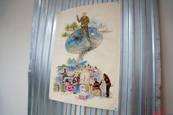 В рамках выставки Музей советского наива представляет три десятка избранных работ художника.