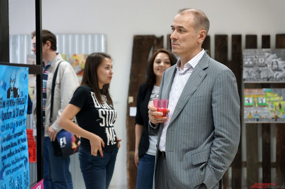 Пермский политик Константин Окунев.