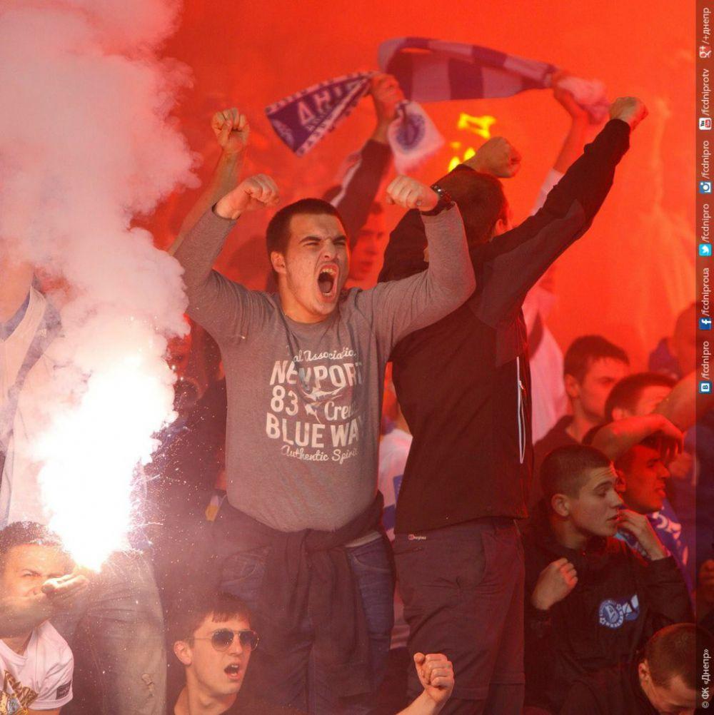 Матч «Днепр» - «Наполи»: емоции фанатов во время и после матча