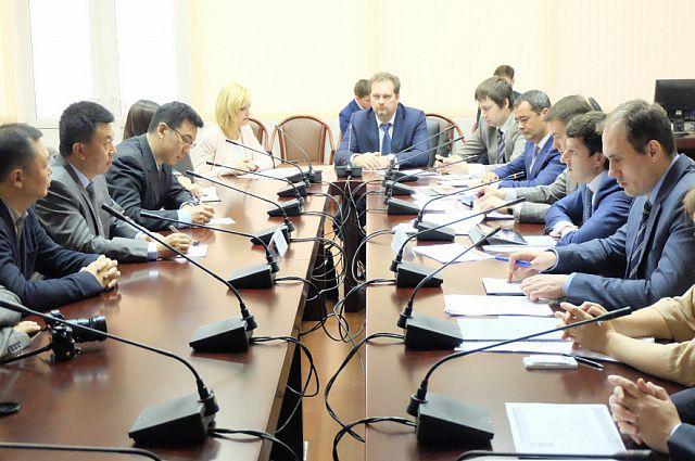 На совещании в Минэнерго России.