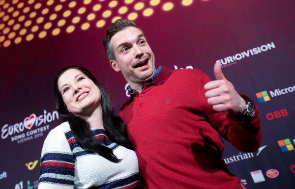 Бьянка Николай и Алексей Ларке из Великобритании.
