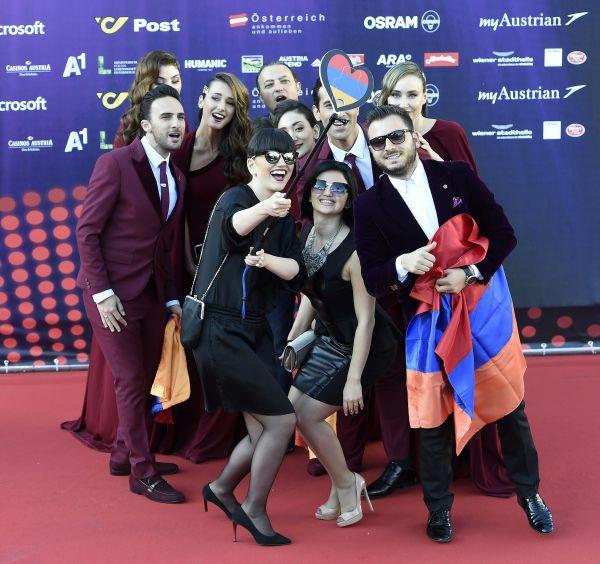 Участники группы «Генеалогия» из Армении.