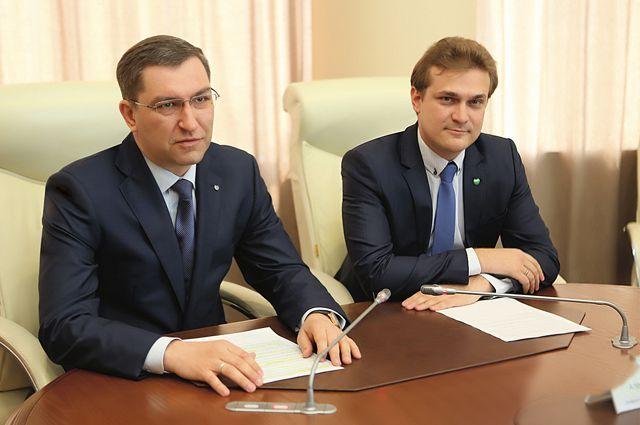 Александр Нуйкин и Александр Анащенко.