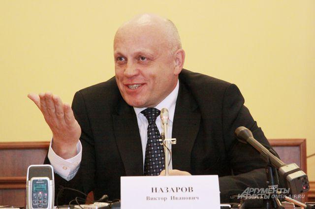 Назаров будет участвовать в досрочных выборах губернатора.