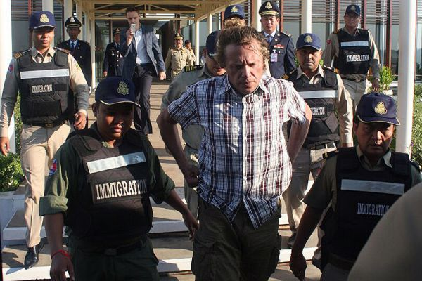 13 августа 2013 года Тверской суд Москвы заочно арестовал Полонского по делу о хищении 5,7 миллиарда рублей у дольщиков «Кутузовской мили». Он был объявлен в международный розыск.