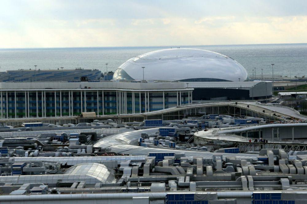 Столица зимней Олимпиады 2014 года - Сочи. Краснодарский край