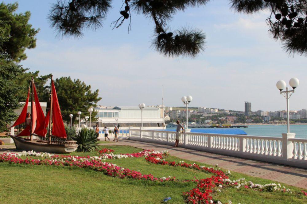 Геленджик, Краснодарский край. Курорт на Черноморском побережье