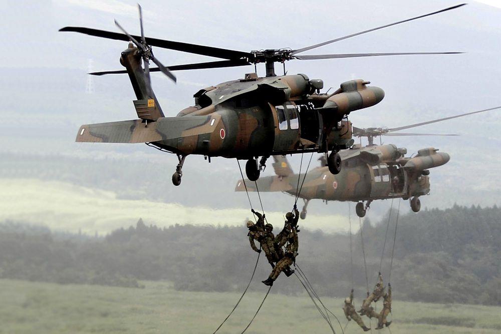 Япония обладает шестым по величине военным бюджетом, пятым парком по самолетов и четвертым по величине флотом. Эксперты видят слабость армии Японии в конституции, которая запрещает ведение военных действий за пределами страны.