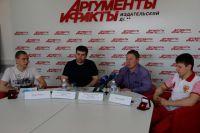 Евгений Морозов, Абдулатип Казбеков, Андрей Болдырев и Илья Умен-Чин