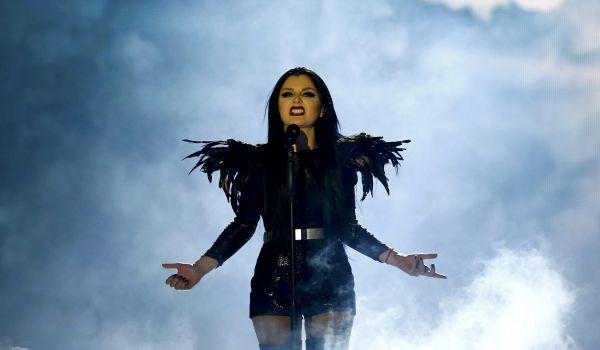 Певица Нина Сублатти из Грузии.