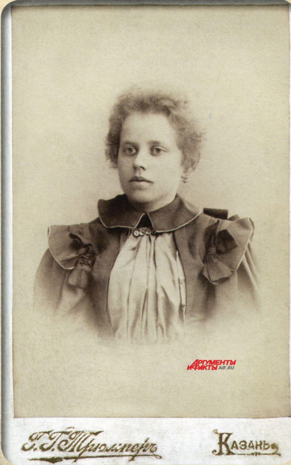 Казанская гимназистка
