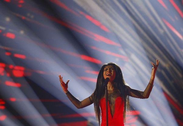 Певица Aminata из Латвии.