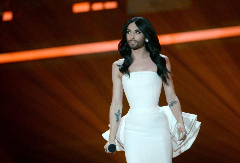 Ведущая Евровидения Кончита Вурст