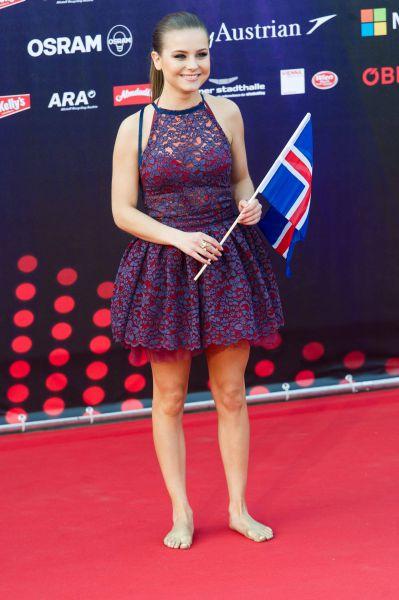 Представительница Исландии