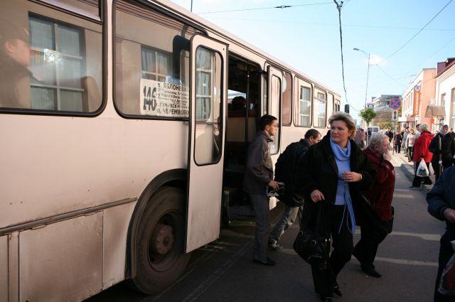 В Самаре маршрут автобуса