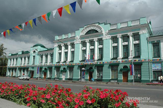 На выходных в Омске возможен дождь.