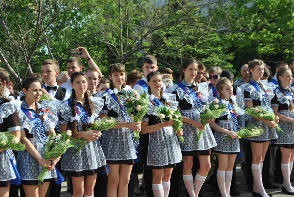 Выпускники гимназии №7 Севастополя. 2015г.