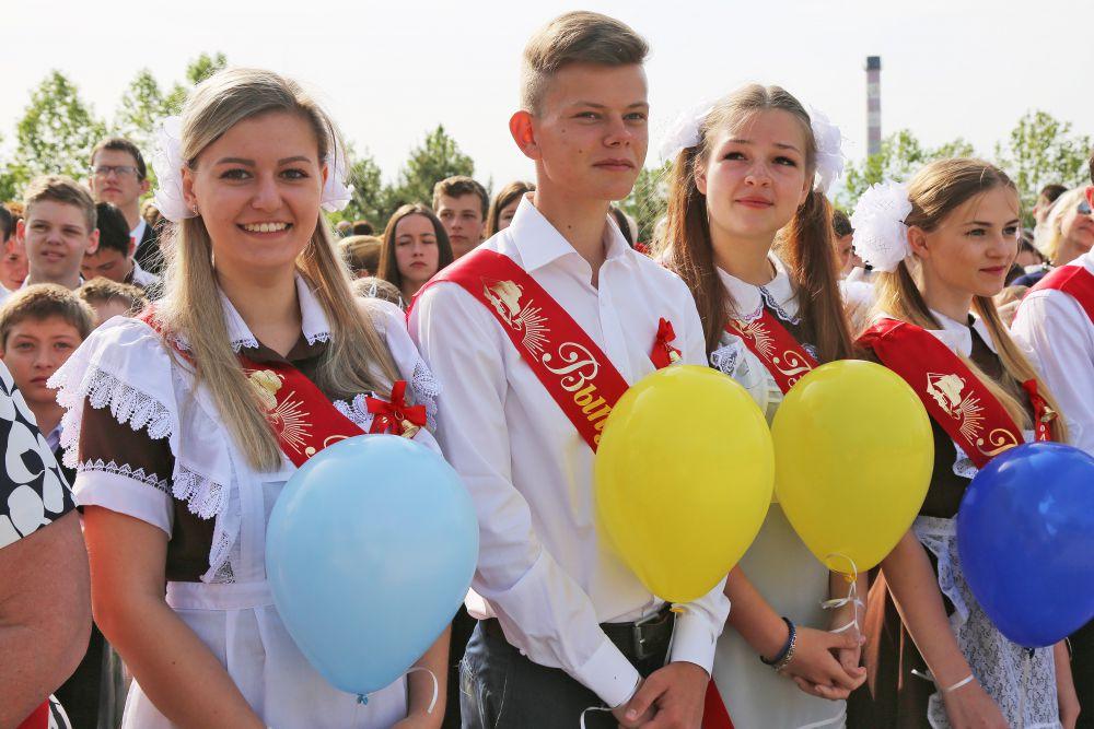 Выпускники симферопольской школы-гимназии №10. 2015 год.