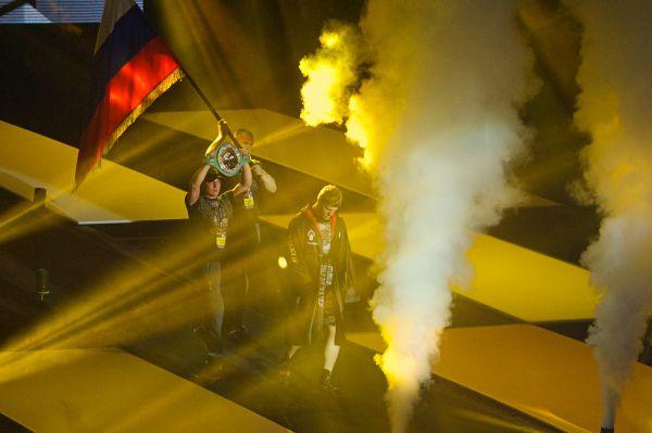 Бой Поветкина против Переса организаторы вечера бокса превратили в настоящее шоу