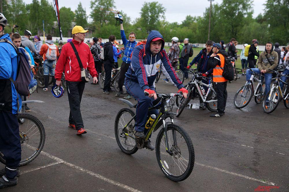 В минувшее воскресенье, 19 мая, пермяки приняли участие в традиционном велопробеге «Пермское кольцо».