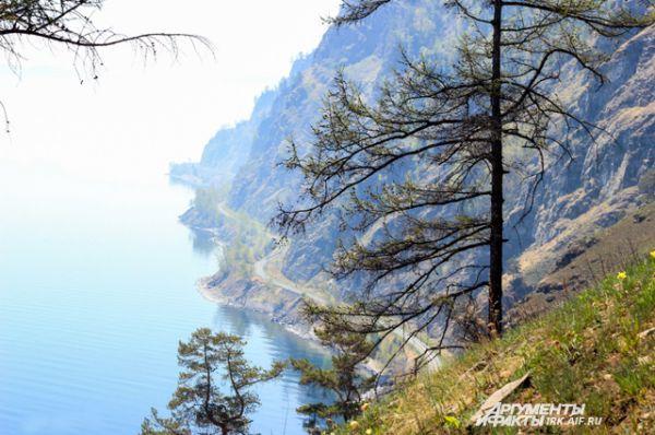 Природа Байкала просыпается чуть позже, чем в других местах Иркутской области.