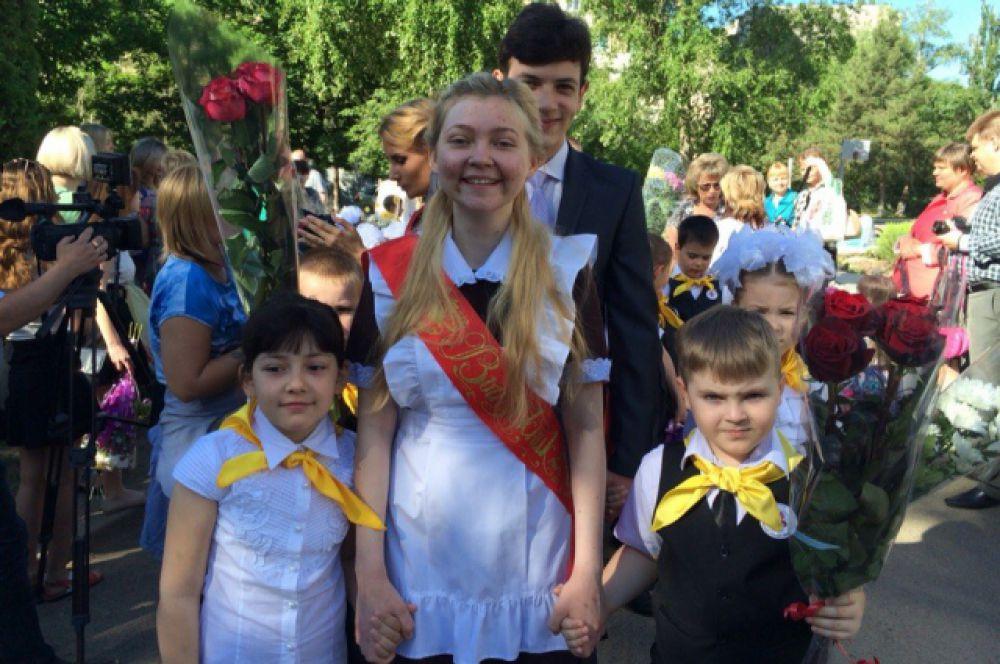 23 мая 2015 года, во дворе волгодонской гиманизии №1 «Юнона».