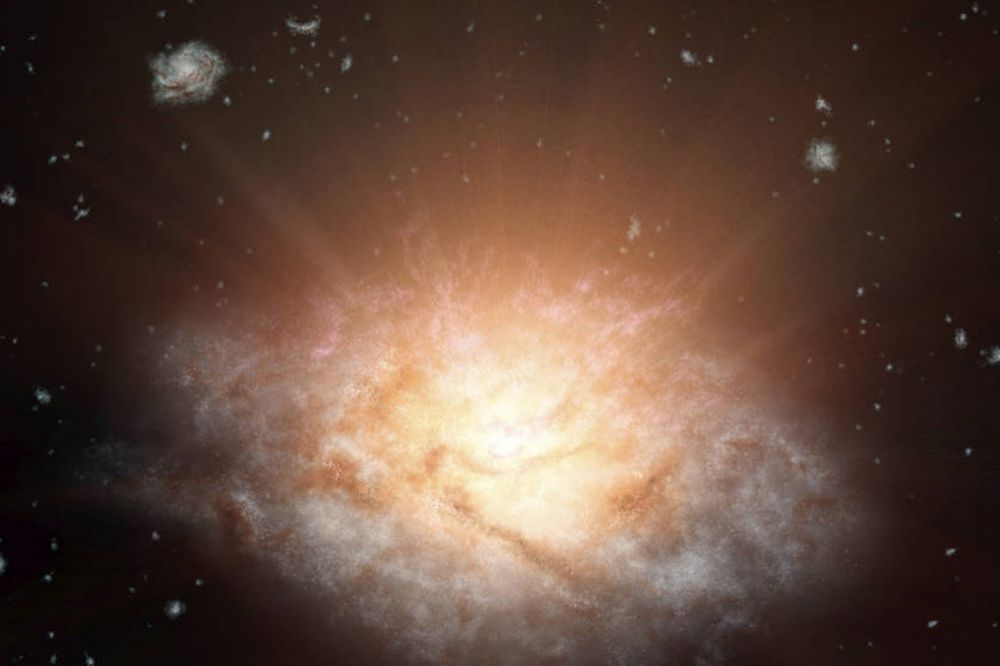Самую яркую галактику удалось открыть при изучении данных, полученных в 2010 году космическим инфракрасным телескопом WISE. Порядковый номер, присвоенный галактике-чемпиону, состоит из названия этого аппарата и 18-значного числа. По данным ученых, она излучает свет в 300 трлн раз сильнее, чем наше Солнце. Галактика находится от Земли на расстоянии 12,5 млрд световых лет, именно с этим ученые связывают то, что ее не удалось открыть ее ранее.