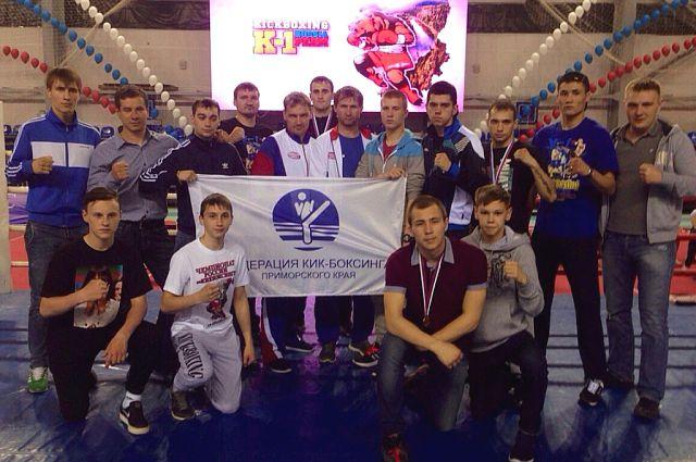 Приморские призёры чемпионата России.