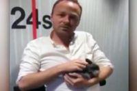 Радиоведущий Асгер Юль.