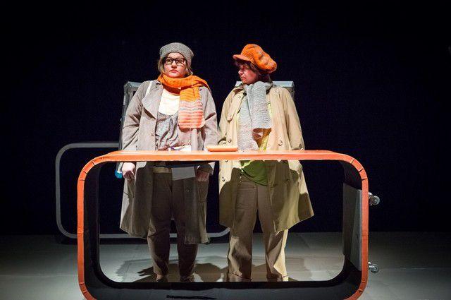 Премьера спектакля «Две дамочки в сторону севера».