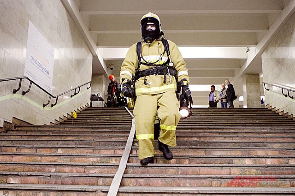 Спасатели были готовы оказать помощь людям и справиться с катастрофой.