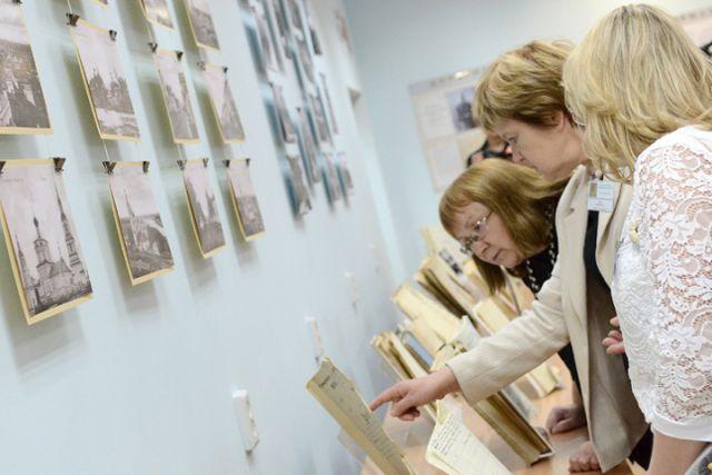 Открытие прошло в Государственном архиве Кировской области.