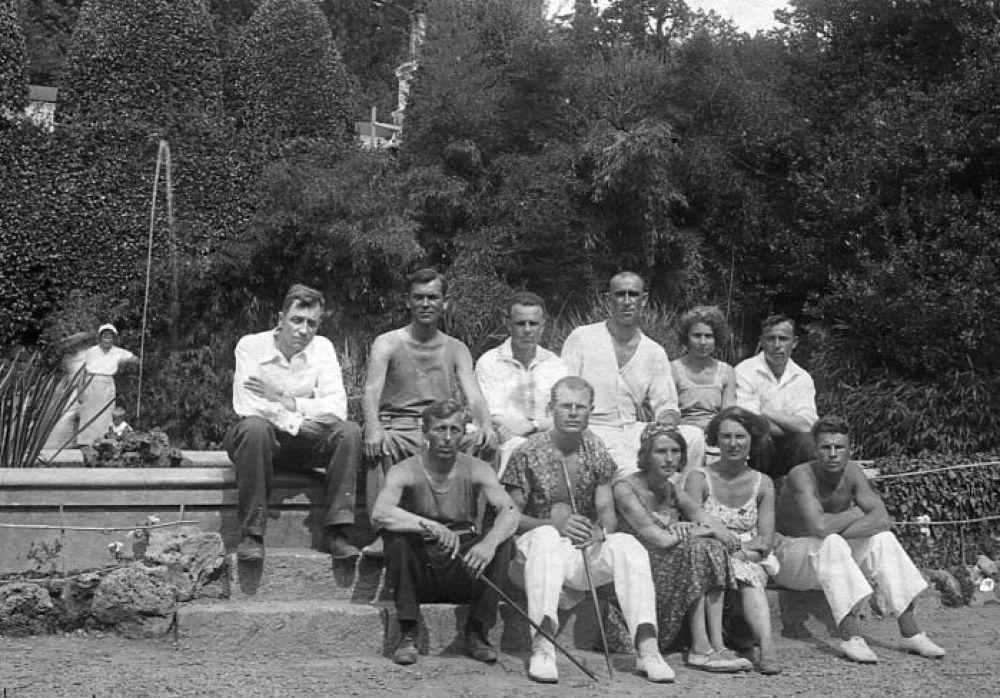 Никитский ботанический сад. 1936 год.