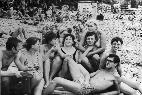 Южный берег Крыма. 70-е годы.