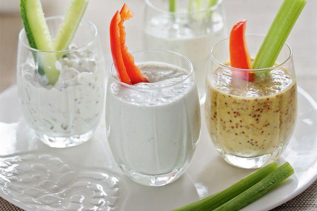 Соусы к салатам без майонеза