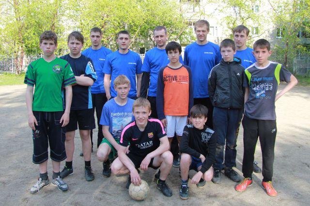 В Екатеринбурге прошел первый в своем роде футбольный матч